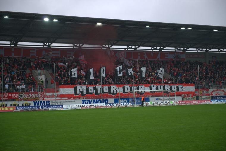 Halle verpasst Bremen ein halbes Dutzend - Spielbericht + Bilder
