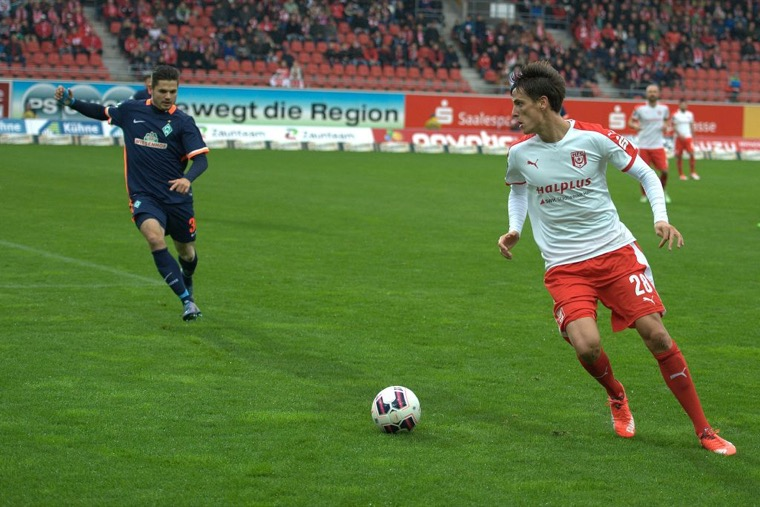 14. Spieltag; Chemnitzer FC - Hallescher FC