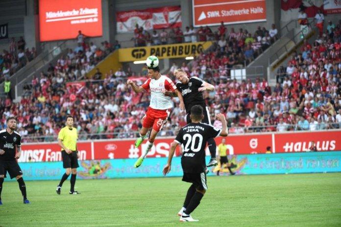 Jena siegt in Halle – Spielbericht + Bilder