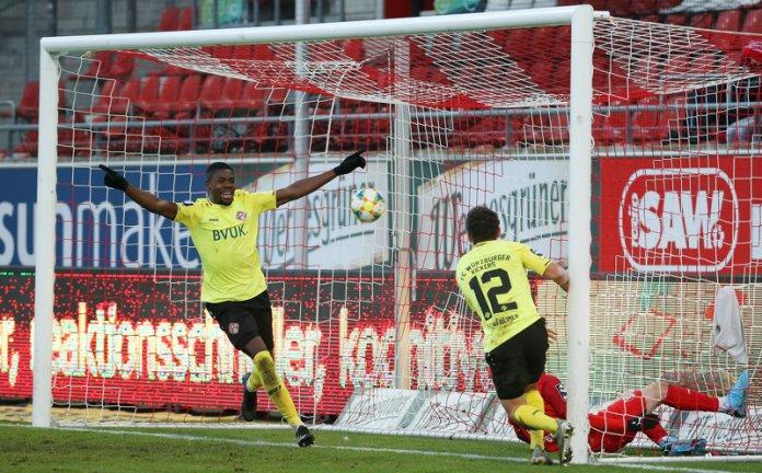 19. Spieltag 19/20: Hallescher FC - Würzburger Kickers