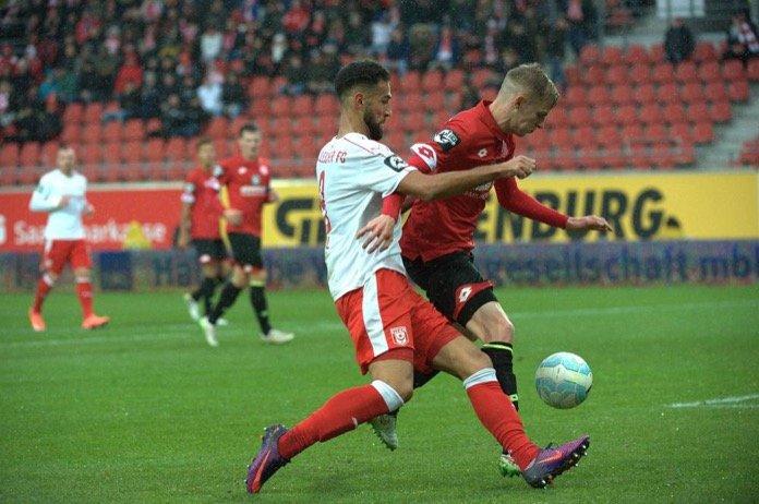 15. Spieltag 16/17: Hallescher FC - 1. FSV Mainz 05 II