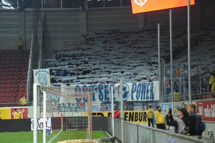 10. Spieltag 18/19: Hallescher FC - Hansa Rostock