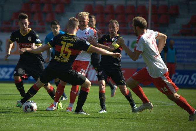 7. Spieltag; VfB Stuttgart II - 1. FSV Mainz 05 II (Nachholspiel)