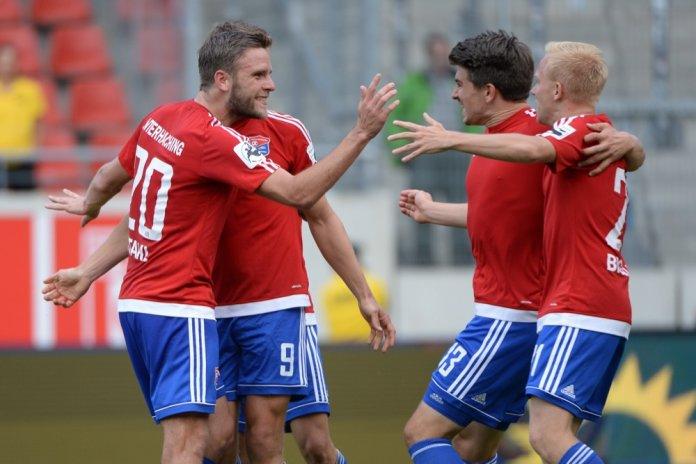 5. Spieltag 17/18: Hallescher FC - SpVgg Unterhaching