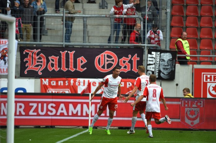 7. Spieltag 17/18: Hallescher FC - SV Wehen Wiesbaden