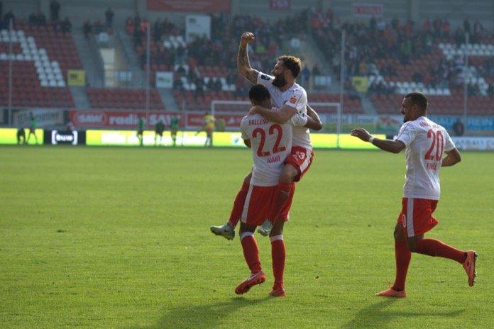 11. Spieltag 16/17: Hallescher FC - FSV Zwickau