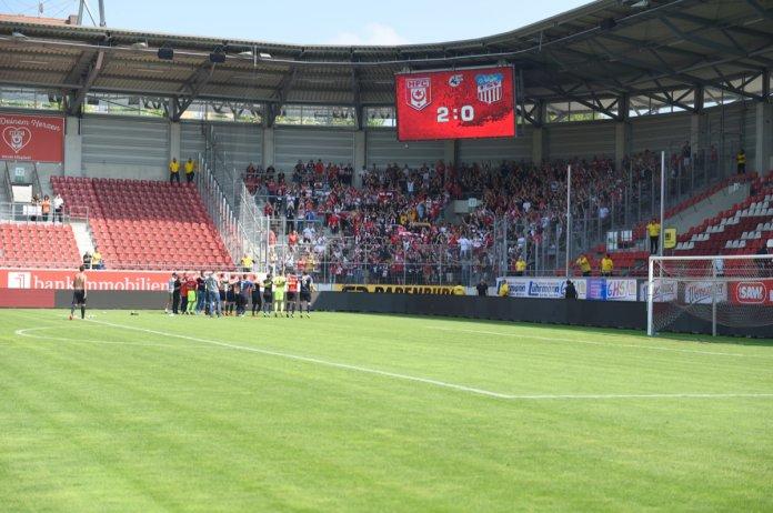 38. Spieltag 17/18: Hallescher FC - FSV Zwickau - Bild