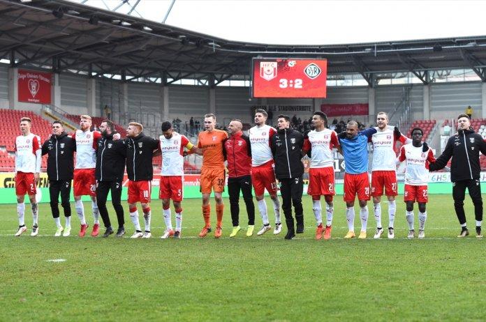 21. Spieltag 17/18: Hallescher FC - VfR Aalen - Bild