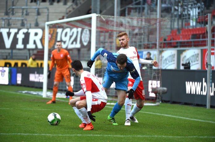 21. Spieltag 17/18: Hallescher FC - VfR Aalen