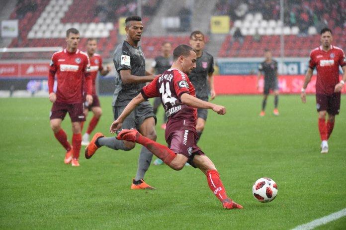 8. Spieltag 18/19: Hallescher FC - VfR Aalen - Bild