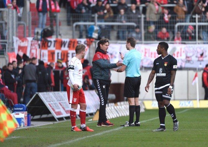 24. Spieltag 16/17: Hallescher FC - Sonnenhof Großaspach