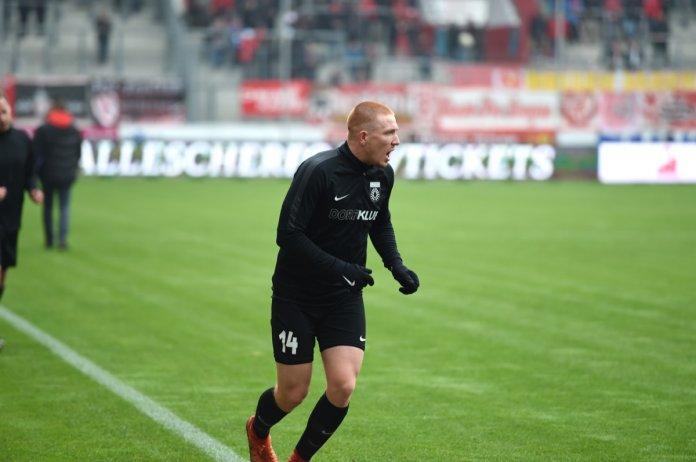 16. Spieltag 18/19: Hallescher FC - Sonnenhof Großaspach - Bild