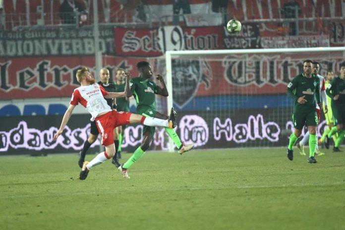 Hallescher FC: Bangen um Fabian Franke