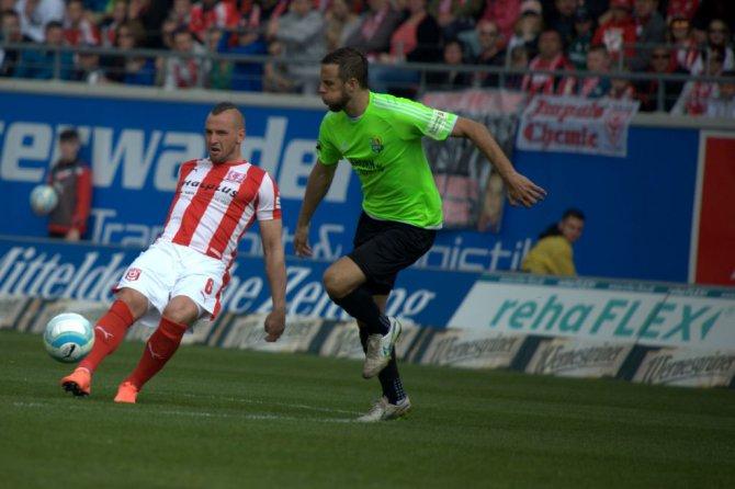 33. Spieltag 15/16: Hallescher FC - Chemnitzer FC