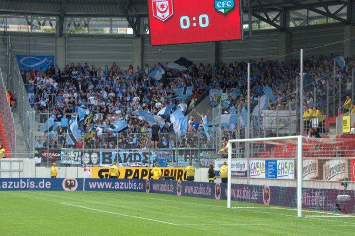 Halle und Chemnitz nach Fink-Tor mit 1:1-Remis – Spielbericht + Bilder