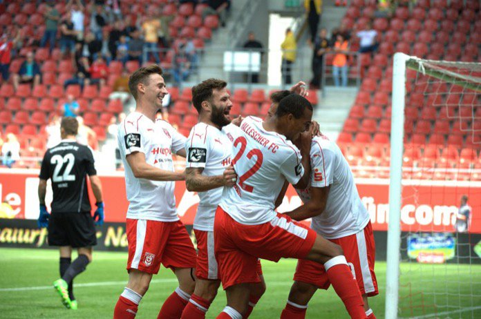 22. Spieltag; Hallescher FC – SSV Jahn Regensburg