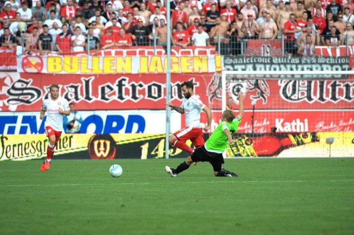 2. Spieltag 16/17:  Hallescher FC - Chemnitzer FC
