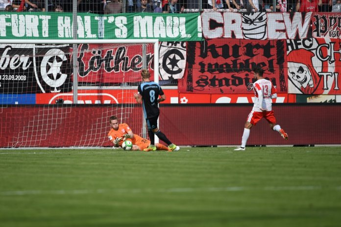 10. Spieltag 17/18: Hallescher FC - Chemnitzer FC