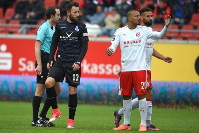 33. Spieltag 16/17: Hallescher FC - MSV Duisburg