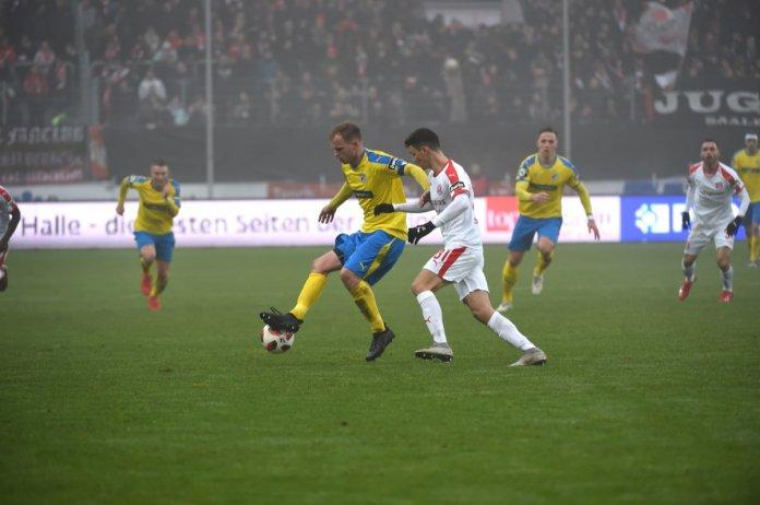 22. Spieltag 18/19: Hallescher FC - Carl Zeiss Jena - Bild