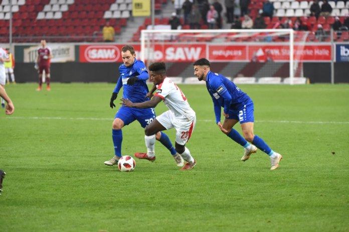 19. Spieltag 18/19: Hallescher FC - Karlsruher SC