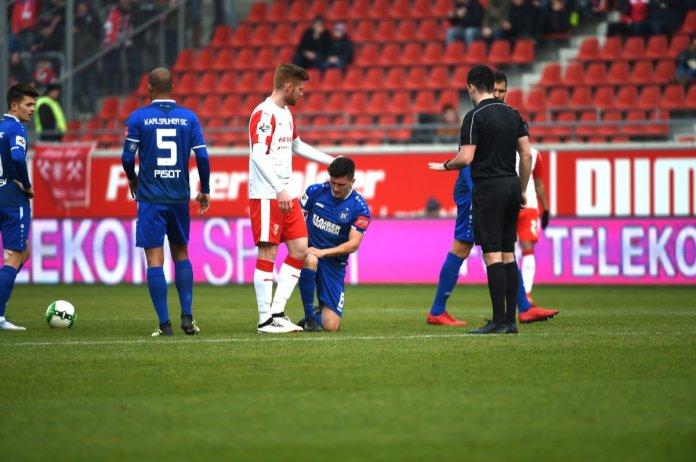 25. Spieltag 17/18: Hallescher FC - Karlsruher SC