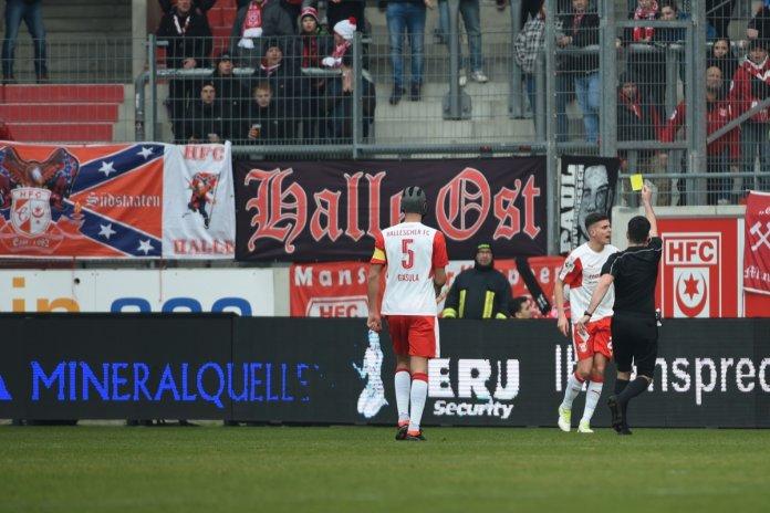 Hallescher FC: Tobias Müller fehlt gesperrt