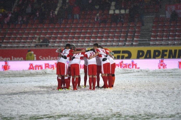 30. Spieltag 17/18: Hallescher FC - Sportfreunde Lotte