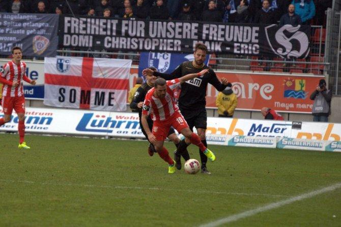 22. Spieltag; Hallescher FC - 1. FC Magdeburg (Stimmen zum Spiel)