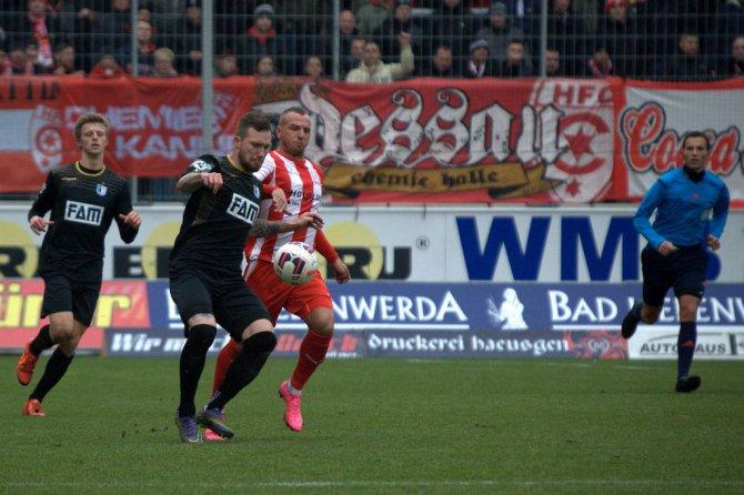 Magdeburg am letzten Spieltag (Volker Ballasch)