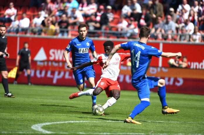 36. Spieltag; Hallescher FC – 1. FC Magdeburg (Stimmen zum Spiel)