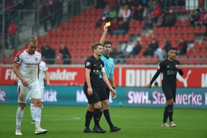 14. Spieltag 18/19: Hallescher FC - SV Meppen - Bild