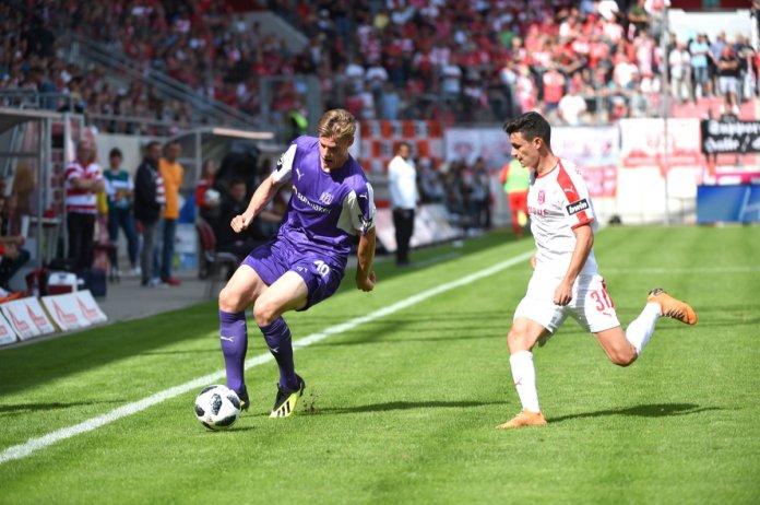 6. Spieltag 18/19: Hallescher FC - VfL Osnabrück  - Bild