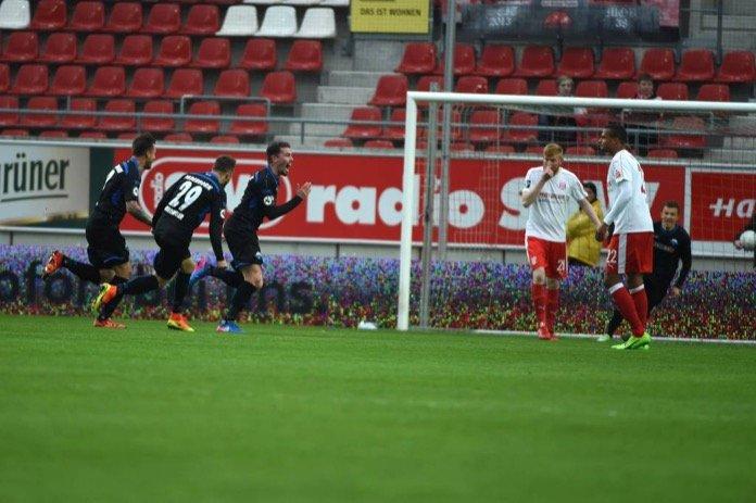 31. Spieltag 16/17: Hallescher FC - SC Paderborn 07