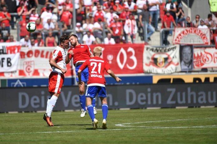 5. Spieltag 17/18: Hallescher FC - SpVgg Unterhaching Teil2 - Bild