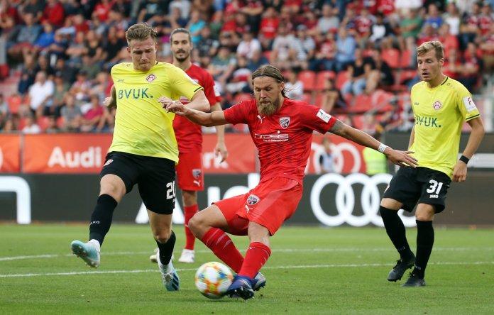 4. Spieltag 19/20: FC Ingolstadt 04 - FC Würzburger Kickers - Bild