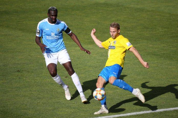 29. Spieltag 19/20: Carl Zeiss Jena - Chemnitzer FC - Bild