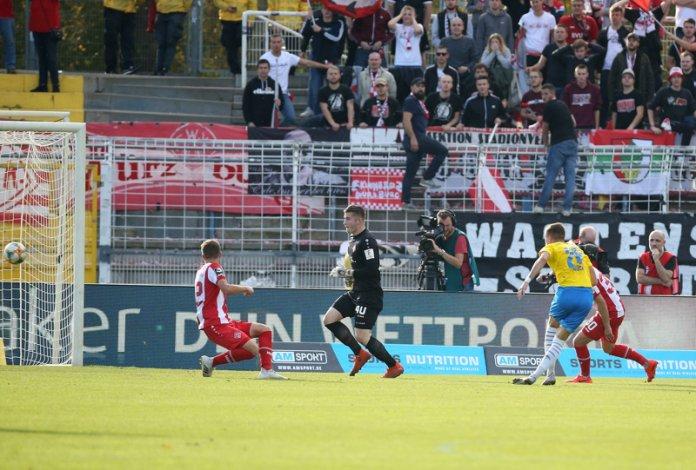 12. Spieltag 19/20: Carl Zeiss Jena - Würzburger Kickers