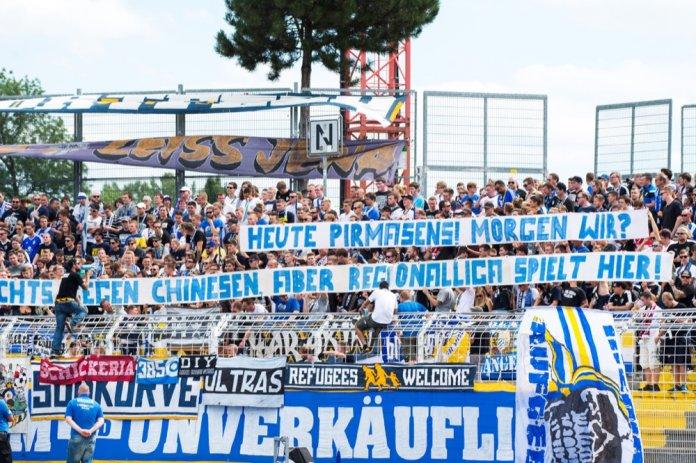2. Spieltag 17/18: Carl Zeiss Jena - Fortuna Köln