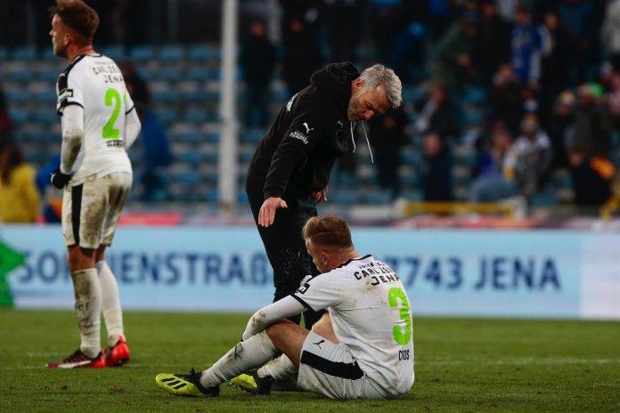 16. Spieltag 18/19: Carl Zeiss Jena - SpVgg Unterhaching - Bild