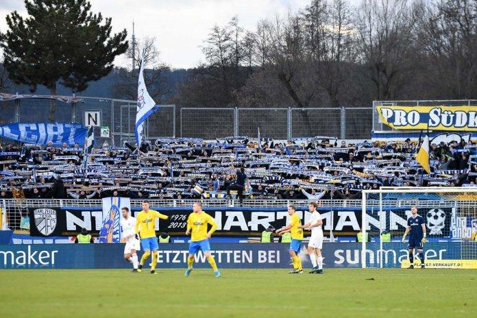 18. Spieltag 19/20: Carl Zeiss Jena - SpVgg Unterhaching