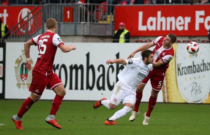 18. Spieltag 18/19: 1. FC Kaiserslautern - Würzburger Kickers