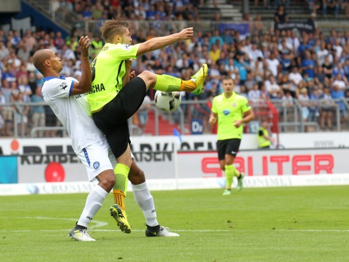4. Spieltag 17/18: Karlsruher SC - SV Wehen Wiesbaden
