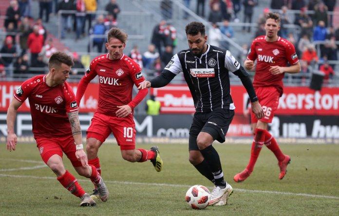 22. Spieltag 18/19: Würzburger Kickers - VfR Aalen