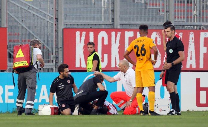 3. Spieltag 19/20: Würzburger Kickers - Sonnenhof Großaspach - Bild