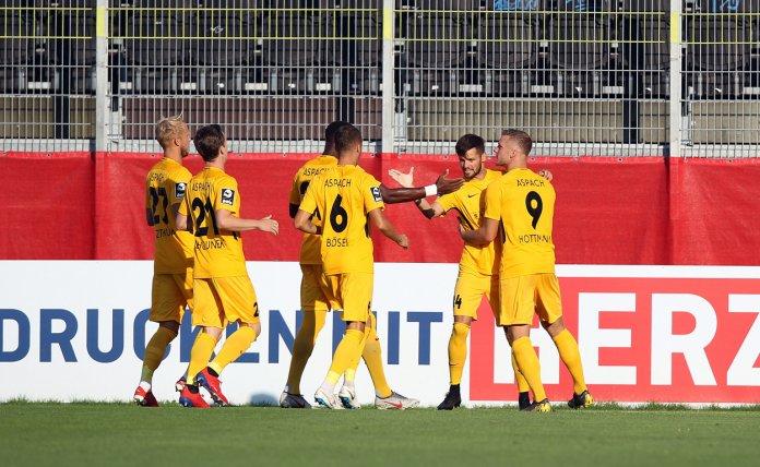 3. Spieltag 19/20: Würzburger Kickers - Sonnenhof Großaspach