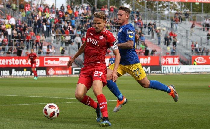 8. Spieltag 18/19: Würzburger Kickers - Eintracht Braunschweig
