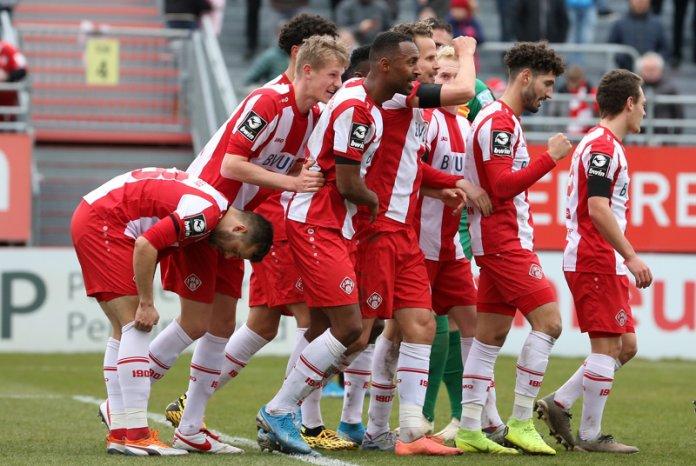 Würzburger Kickers: Mannschaft setzt Zeichen