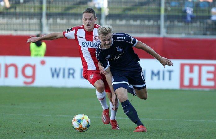13. Spieltag 19/20: Würzburger Kickers - MSV Duisburg