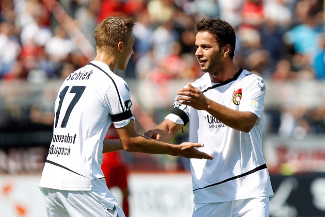 9. Spieltag; SG Sonnenhof Großaspach - Chemnitzer FC